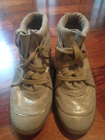 Sneaker Dourado Schutz