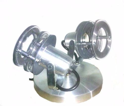 Lampara Moderna D Aplique En Aluminio Techo Pared Exteriores