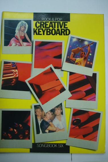 Livro - Teclado Creative Keyboard Rock & Pop - Six