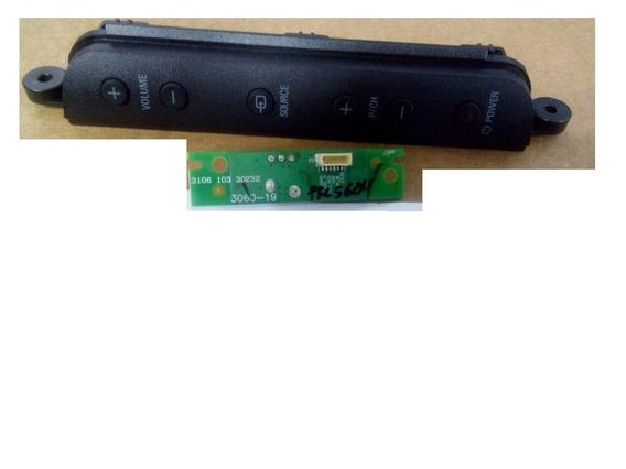 Sensor Controle Philips Pfl5604 Cód: 3106 103 30232 +teclado