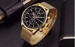 Relógio Masculino De Luxo Curren 5 Modelos Com Frete Grátis
