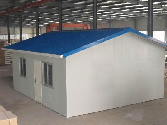 Casa Pré-fabricada 02 Quartos Aço Fácil Montagem