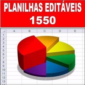 Planilha Excel Editável,vendas, Controle Estoque, Lucro