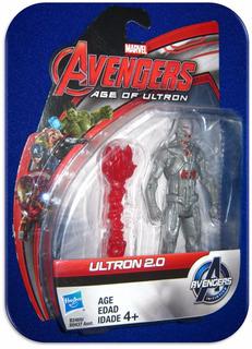 Ultron 2.0 Avengers Original Hasbro/marvel 10.5 Cm 1/18