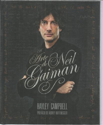 Livro A Arte De Neil Gaiman - Mythos - Bonellihq Cx423 H18