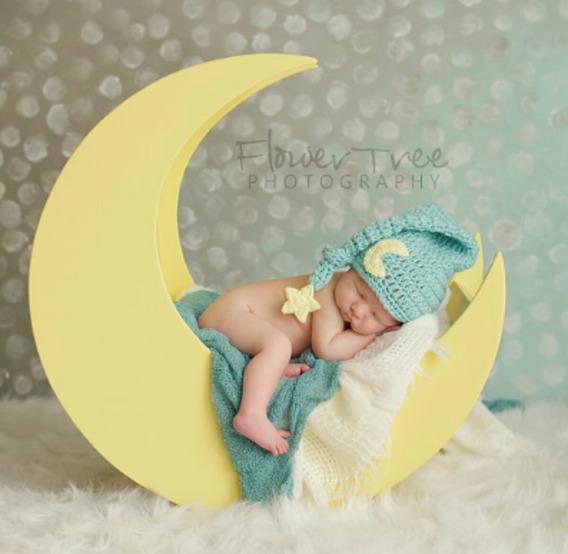 Newborn Acessórios Para Fotografia Gorro