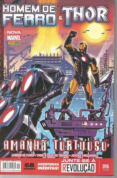 Homem De Ferro & Thor 16 - Panini - Bonellihq Cx73 G19