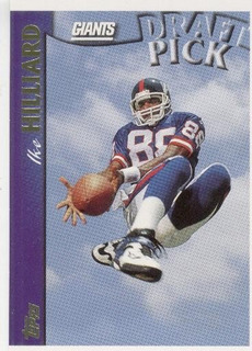 1997 Topps Ike Hilliard Sp Rc New York Giants