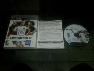 Fifa Soccer 12 Para Play Station 3,excelente Titulo