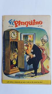 El Pinguino 249 . Año 1961. Portada Pepo