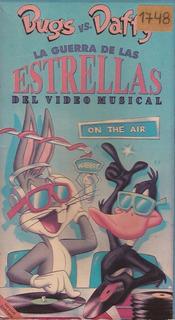 Bugs Bunny La Guerra De Las Estrellas Del Video Musical Vhs