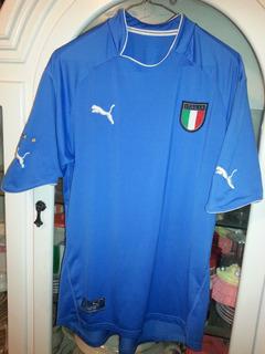 Jersey Playera Seleccion De Italia Marca Puma Mediana