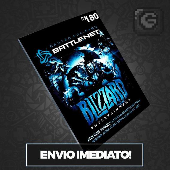 Cartão Battle.net Blizzard Wow R$ 180 (6x R$30) Reais