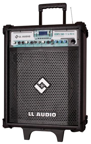 Caixa Amplificada Ll Audio Stone 350 12 Pol 80w Mic, Bt, Usb