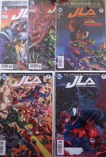 Dc - Justice League Of América (1 Al 9) Televisa