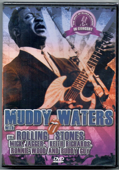 Dvd Muddy Waters - The Best Of - Novo***