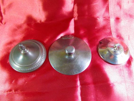 El Arcon Par De Tapas De Metal Para Azucarera Etc 63520