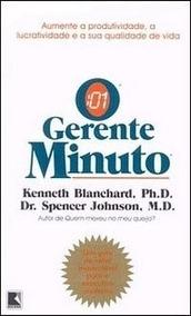 Livro Gerente Minuto Kenneth Blanchard