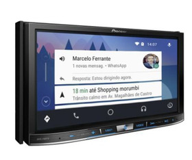 Central Multimídia Avic F80tv Pioneer Tela 7'' Android Auto