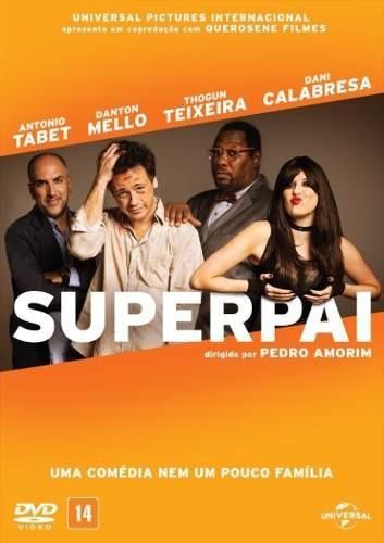 Dvd-superpai:danton Mello,dani Calabresa-novo:original