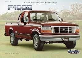 Sucata Ford F1000 4x4 1998/.. Vendido Em Peças