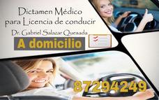 Dictamen Médico De Licencia A Domicilio