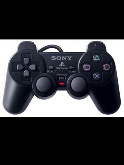 Ps2 Slim Original Desbloqueado + 2 Controles Sony