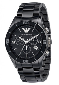 Relógio Emporio Armani Ar1421 Cerâmica Novo Na Caixa