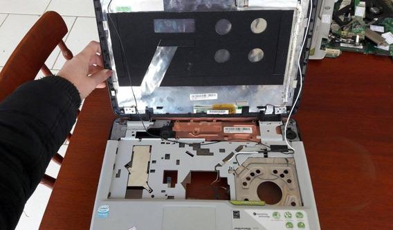 Carca Inferior E Superior Acer Aspire 4720z Sem Moldura Lcd!