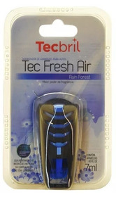 Aromatizante Automotivo Tecbril Tecfresh Air Rain Forest