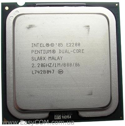 Processador Lga 775 Dual Core E2200 2,20ghz /1m /800