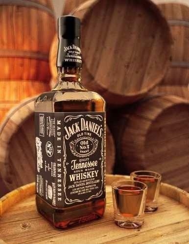 Imagen 1 de 6 de Whisky Jack Daniels Old N°7 Botellon 1.75ltrs