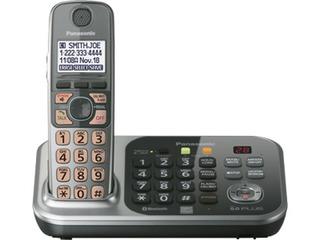 Panasonic Teléfono Inalámbrico Id Hablado Doble Teclado Y Co