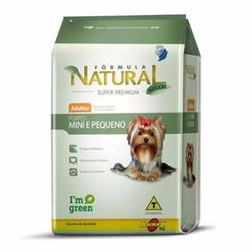 Formula Natural Cães Adultos Mini E Pequenos 7 Kg + 1,0 Kg