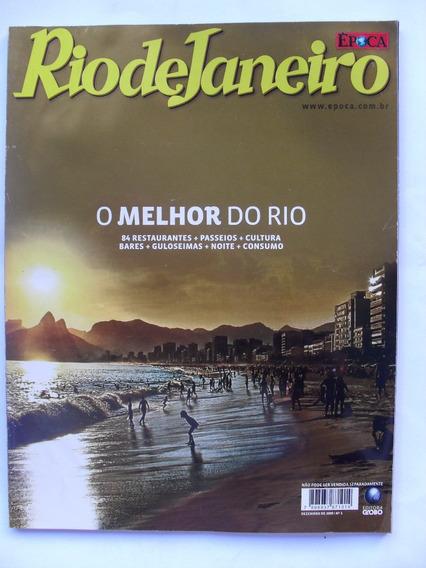 Revista Rio De Janeiro - Época Dez/2009 - Bares Noite