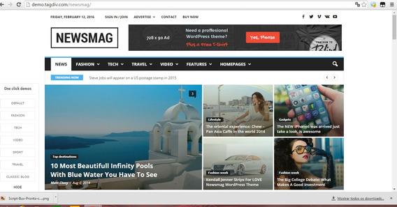 Newsmag - News Magazine Newspaper - Site De Noticia