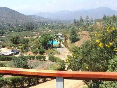 Sector Los Naranjos, A Minutos De Ruta 68 Y Centro De La Comuna