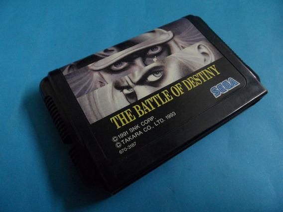 Fatal Fury Garou Battle Destiny Original Mega Drive Jpn