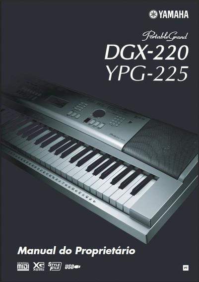 Manual Portugues Teclado Yamaha Dgx 220 - Pdf