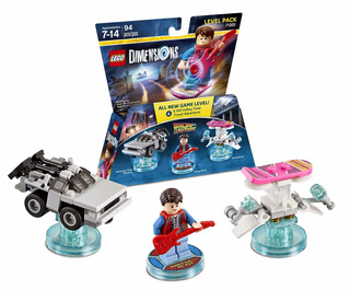 Lego Dimensions Volver Al Futuro Level Pack 71201 + Envío!!