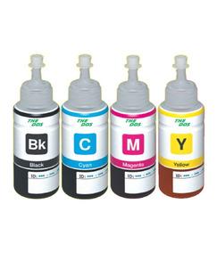 Kit 40 Refil Tinta P/ Impressora Epson Hp Canon 100ml 4 Cor