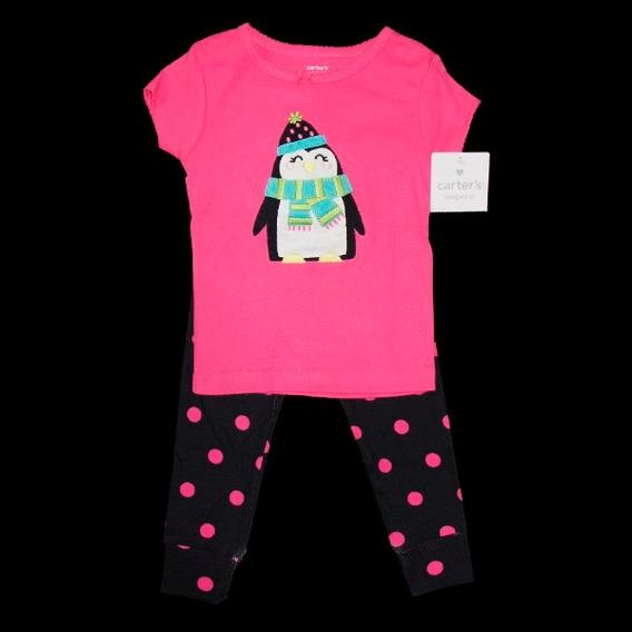 Conjunto Bebê Camiseta E Calça Carter