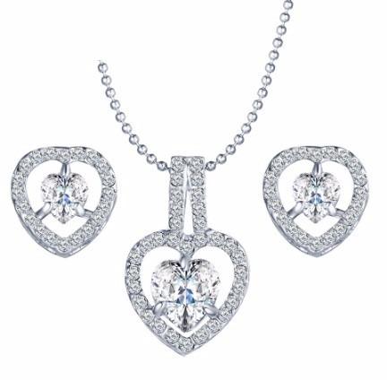 Collar Aretes Cristal Swarovs Elements Evento Regalo Dama