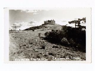 Cartao Postal Fotografico Campos Do Jordão Vista Do Castelo