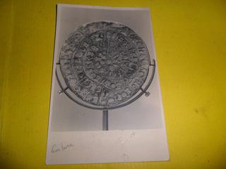 Antiguas Tarjetas Postales Postal Museo Vasija Escritura