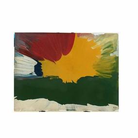 Lindo Quadro De Pintura Abstrata Cód. 003