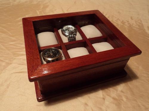 4912b4755063 Caja De Madera Para Guardar 6 Relojes-regalo Empresarial -   2.200 ...