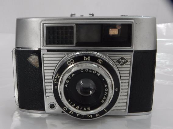 Camera Fotografica Antiga Alemã Agfa Otima