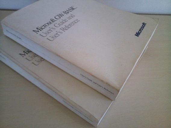 Manuais Microsoft Originais (1987)