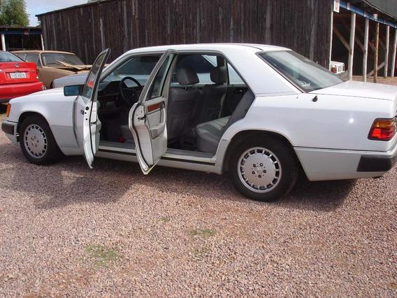 Mercedes 1992 Automatica Bancos Em Couro Teto Solar